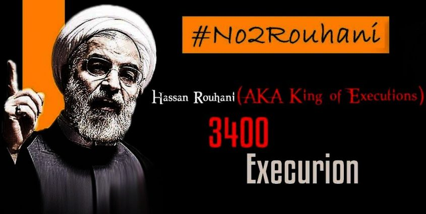 Five years Rouhani's History in human-rights violation it's a fact that the international community breaks his silence on human rights abuses in Iran.
