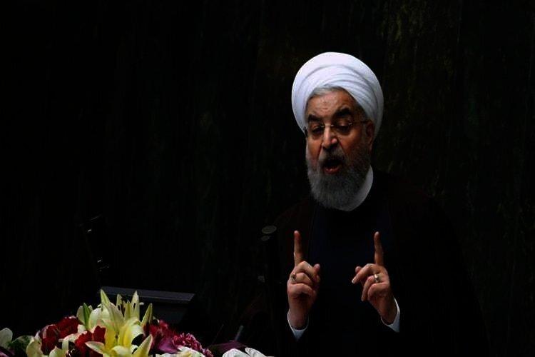 Rouhani blames people