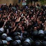 National Protests Danger Tehran