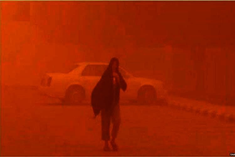 Iran's Air-Polluted Cities