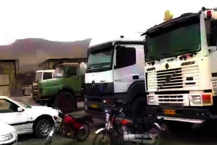 Truck Drivers Strike