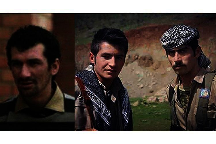 three Kurdish political prisoners