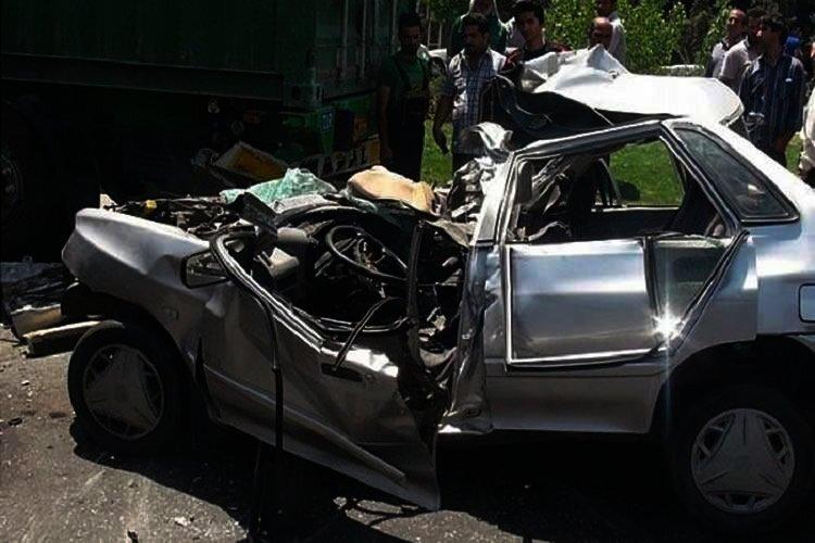 Crashes in Iran