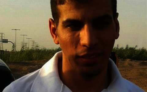 Political prisoner Hamzeh Savari
