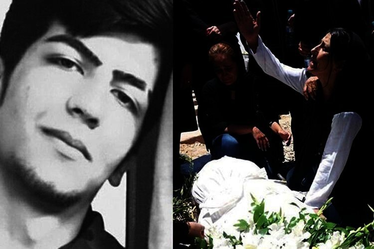 Murdered Iranian political prisoner Shir Mohammad Ali