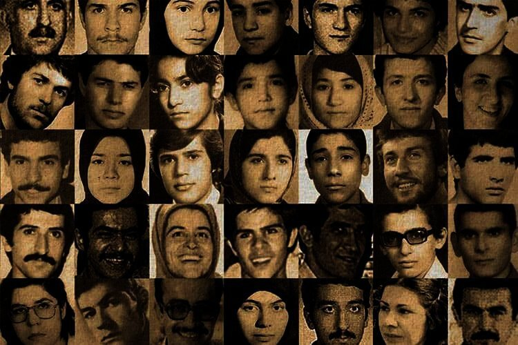 Victims of 1988 massacre of political prisoners in Iran