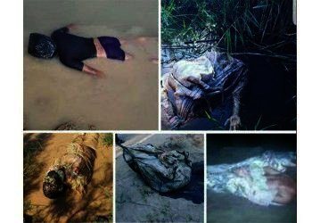 Bodies of slain Iranian protesters