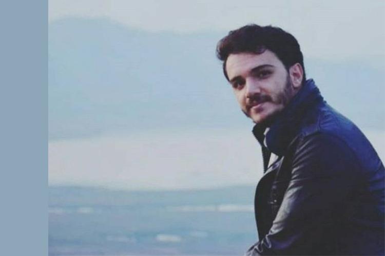 Iranian protester Ershad Rahmanian