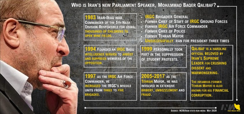 Who is Iran's new Parliament Speaker, Qalibaf?