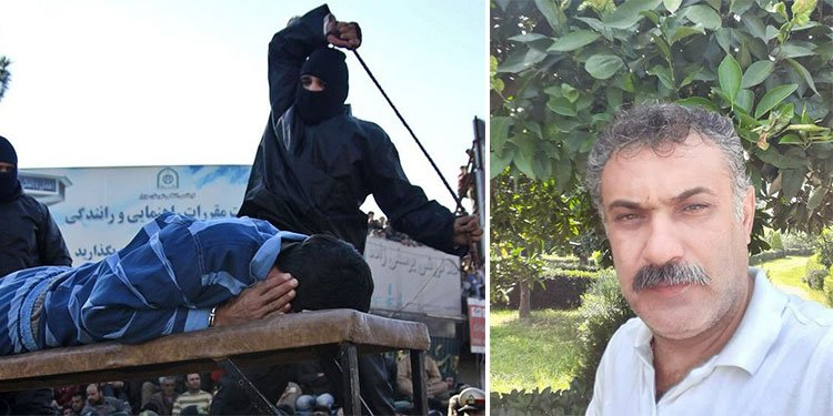 Flogging carried out for Iran bus driver Rasoul Taleb Moghadam