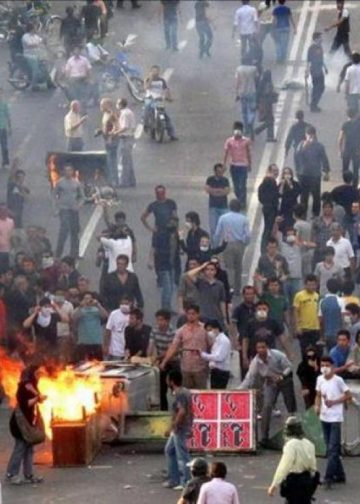 November 2019 anti-government protests in Iran